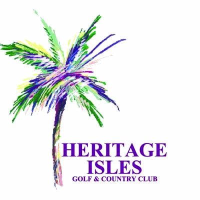 Heritage Isles Golf & County Club New Tampa Florida Logo