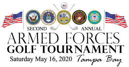 Armed Forces Golf Tournament Tampa Bay Logo